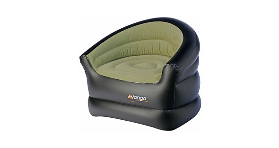 Vango Inflatable Chair Campingstol grøn/sort